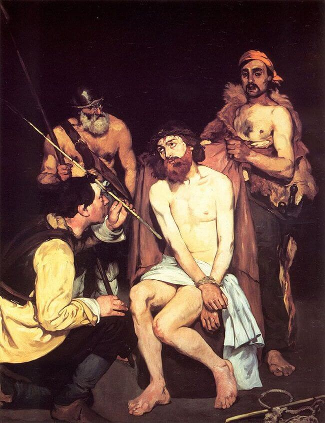 Jesus Mocked by the Soldiers, 1865 by Edouard Manet
