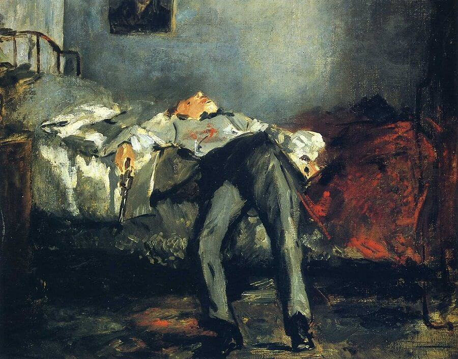 Le Suicide, 1887 by Edouard Manet