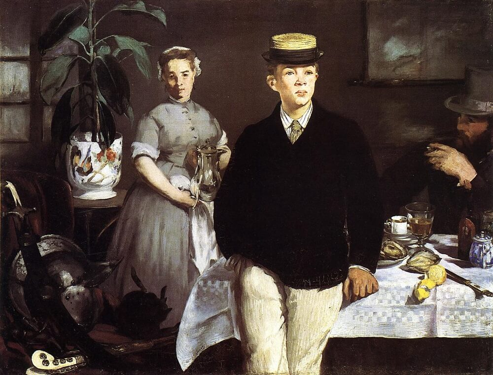 Luncheon in the Studio, 1868 by Edouard Manet