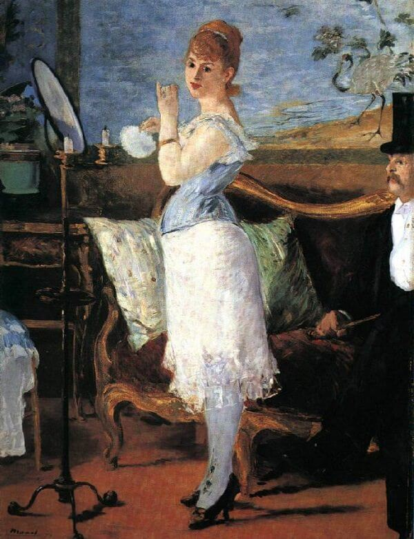 Nana, 1877 by Edouard Manet