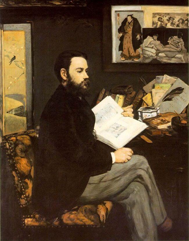 Image result for degas portrait of manet