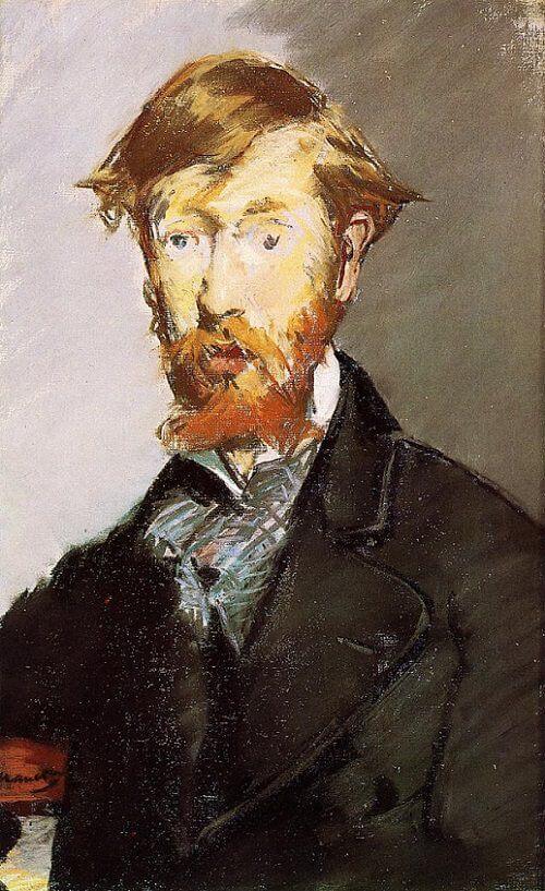Portrait of George Moore, 1879 by Edouard Manet