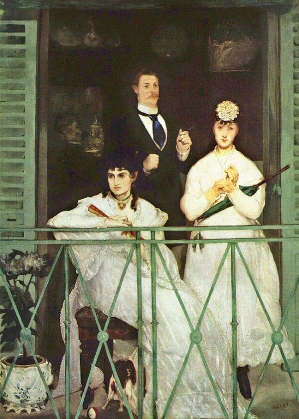 The Balcony, 1868 by Edouard Manet