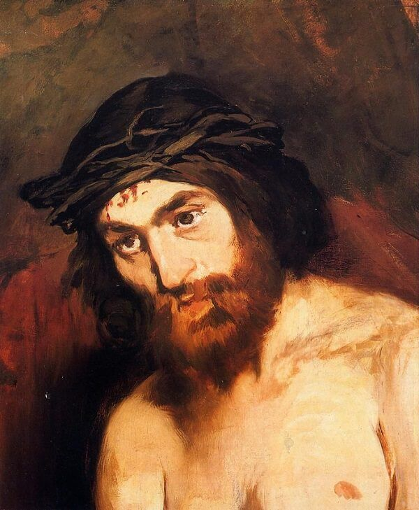 The Head of Christ, 1864 by Edouard Manet