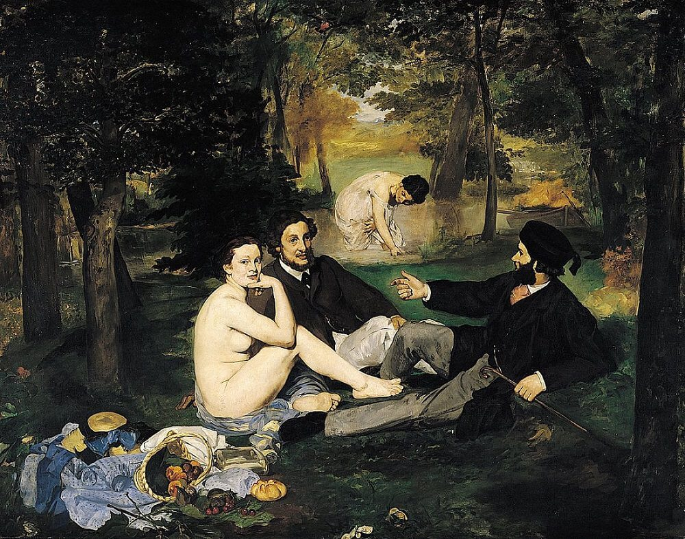 The Luncheon on the Grass, 1862 by Edouard Manet
