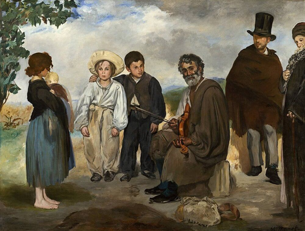 The Old Musician,, 1862 by Edouard Manet