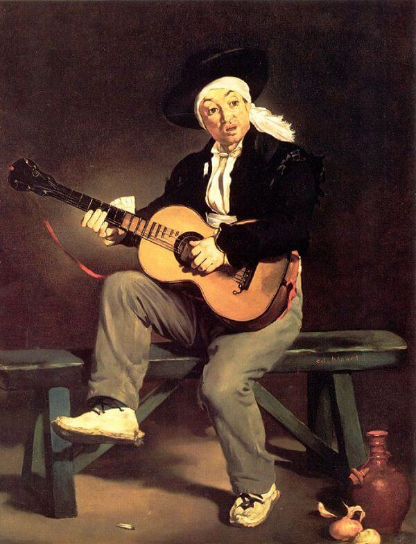 The Spanish Singer, 1860 by Edouard Manet