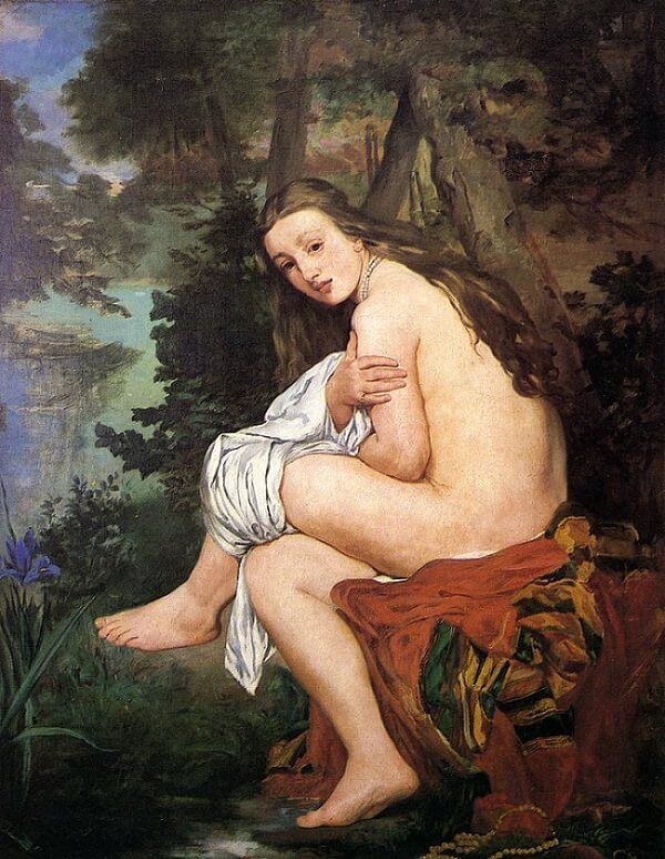 The Surprised Nymph, 1859-61 by Edouard Manet