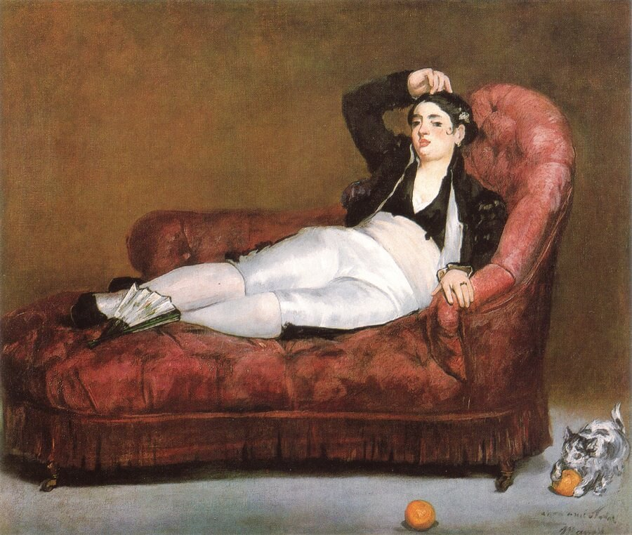 Young Woman Reclining in Spanish Costume, 1862 by Edouard Manet