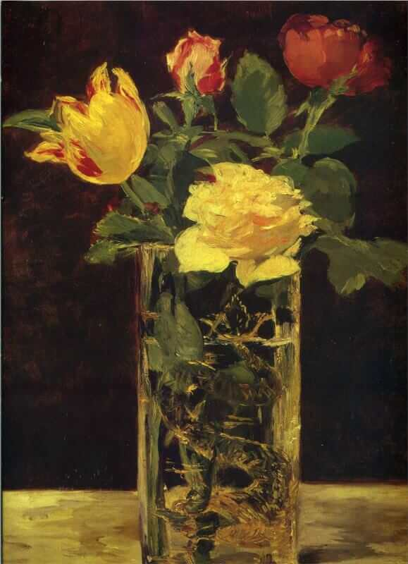 Manet Flowers In A Vase Mary Mulvihill On Art Edouard